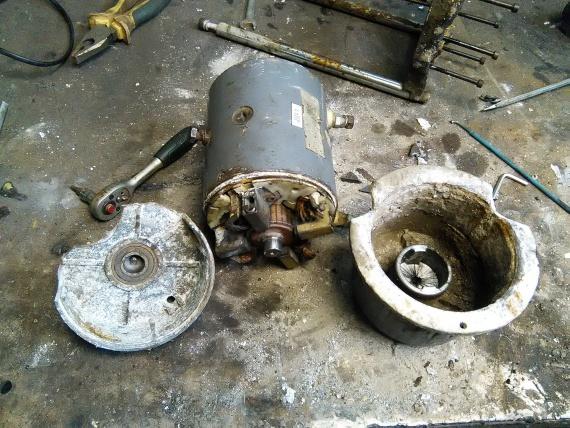 Дополнительное оборудование авто: На что заменит мотор лебедки Сomeup dv 9000?