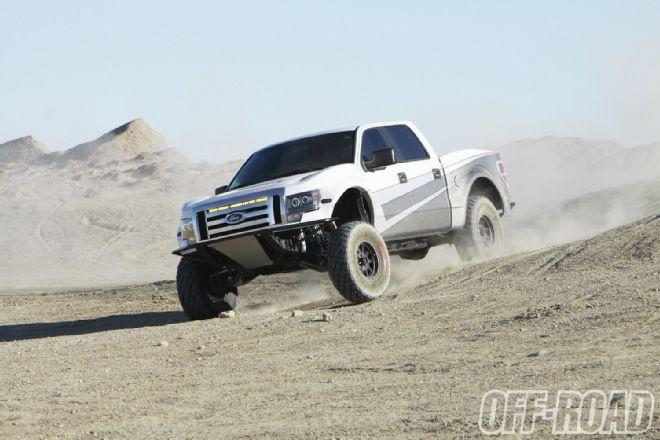Подвеска: Как уделать Ford Raptor...