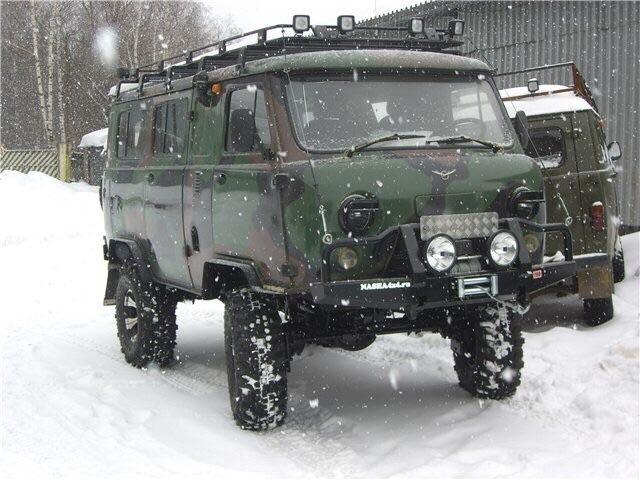 Дополнительное оборудование авто: Свежая буханка УАЗ 3962. Прямо с пыла с жара.